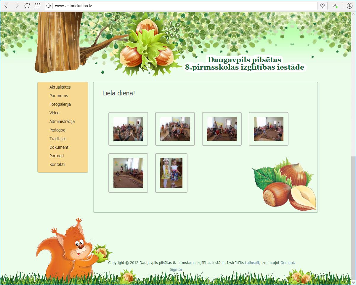 Daugavpils pilsētas 8.pirmsskolas izglītības iestāde