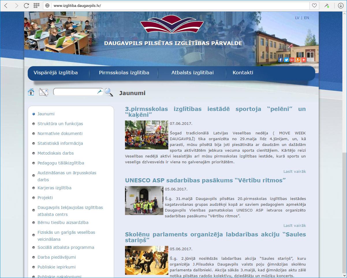 Daugavpils pilsētas Izglītības pārvalde