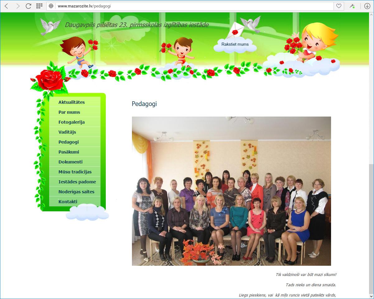 Daugavpils pilsētas 23.pirmsskolas izglītības iestāde