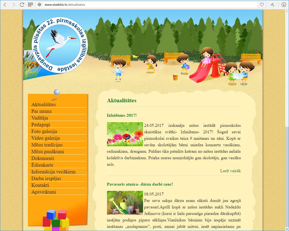 Daugavpils pilsētas 22.pirmsskolas izglītības iestāde