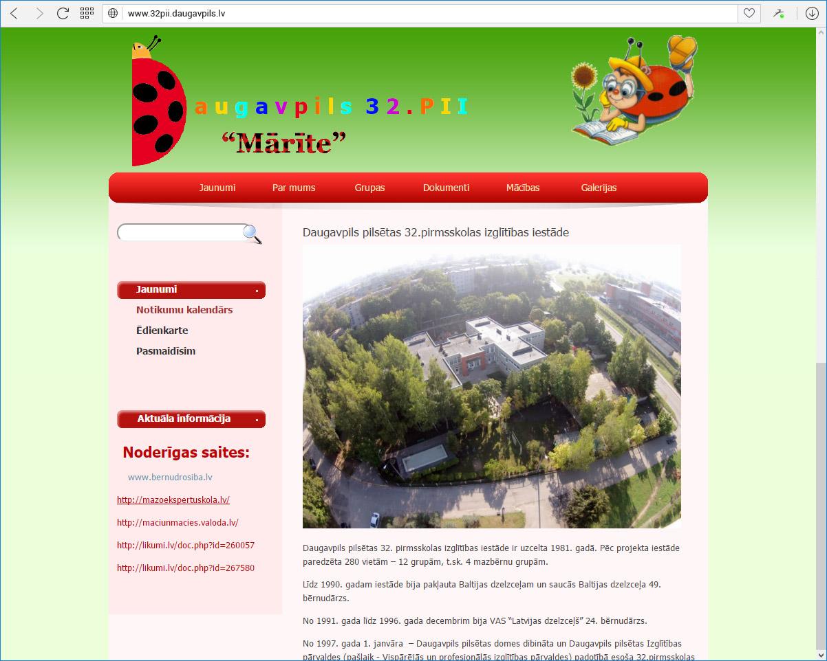 Daugavpils pilsētas 32.pirmsskolas izglītības iestāde