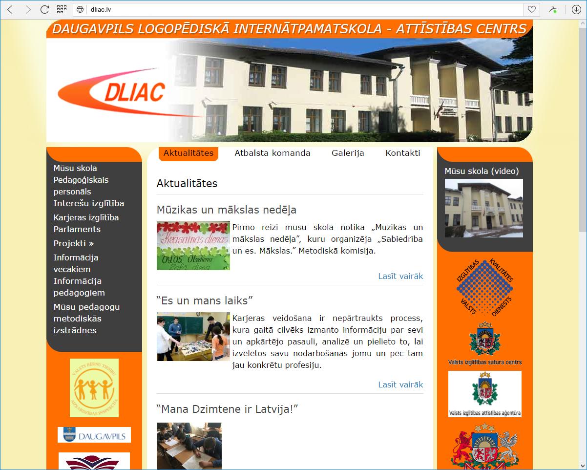 Daugavpils logopēdiskā internātpamatskola - attīstības centrs