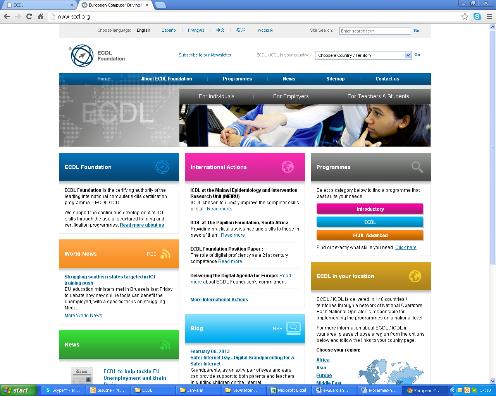 Для молодёжи с 16 лет и учителей ECDL карта и тесты – только 5 EUR