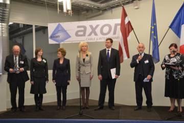 Mūsu klientu jaunumi: Axon Cable atklāj jaunu cehu