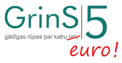 Pāreja uz eiro (euro) - grāmatvedības programmas GrinS
