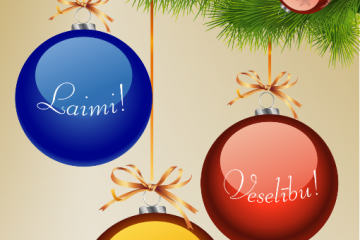 Светлого Рождества и счастливого Нового Года!