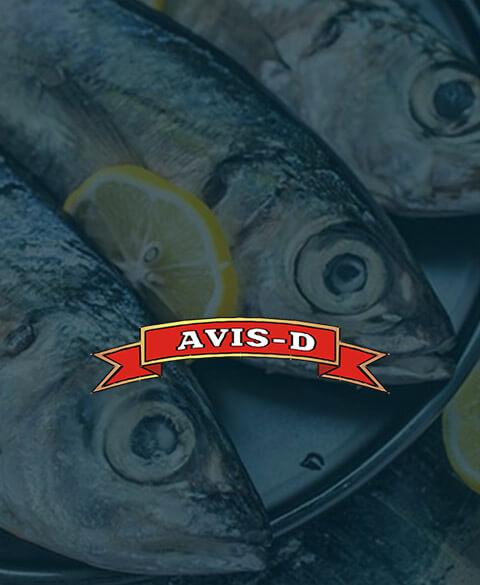 Сайт рыбообрабатывающего предприятия Avis-D