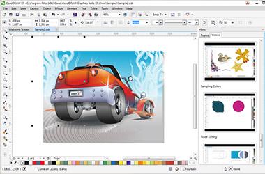 Datorgrafikas iespējas ar CorelDraw Graphics