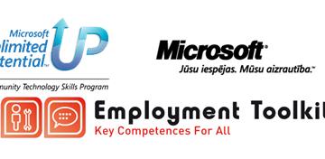 E-prasmes nodarbinātībai un attīstībai