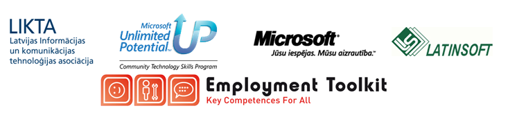 """Noslēgusies apmācība """"E-prasmes nodarbinātībai un attīstībai"""""""