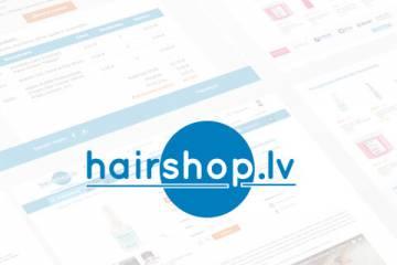 Profesionālās kosmētikas un aksesuāru interneta veikals Hairshop.lv
