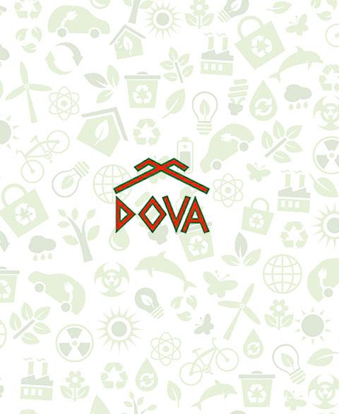 Сайт для рассылки счетов компании DOVA