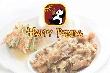 Restorāna Happy Panda mājas lapa