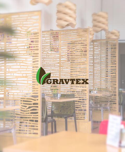 Gravtex - производитель дизайнерских заборов и стеновых панелей