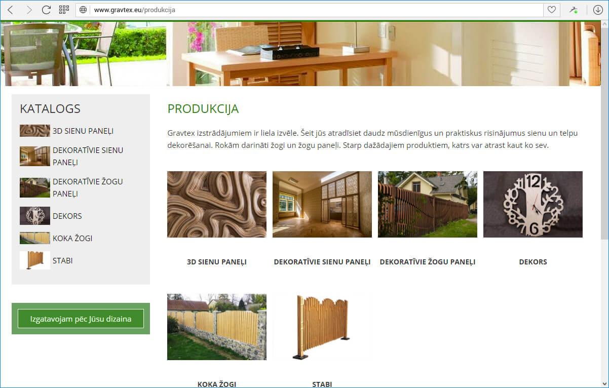 gravtex.eu каталог
