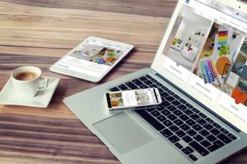 Mēs pabeidzām dizaina studijas «Zeize» mājas lapu