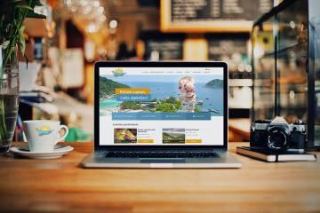 Мы завершили сайт туристического агенства Dinaburgtour
