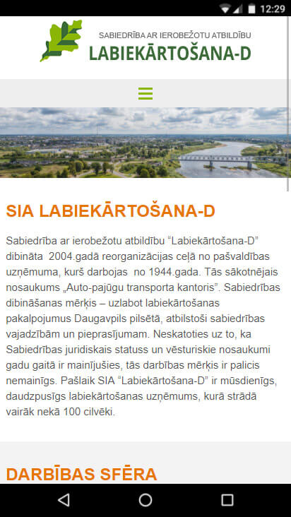 www.labiekartosana.lv - mobila versija