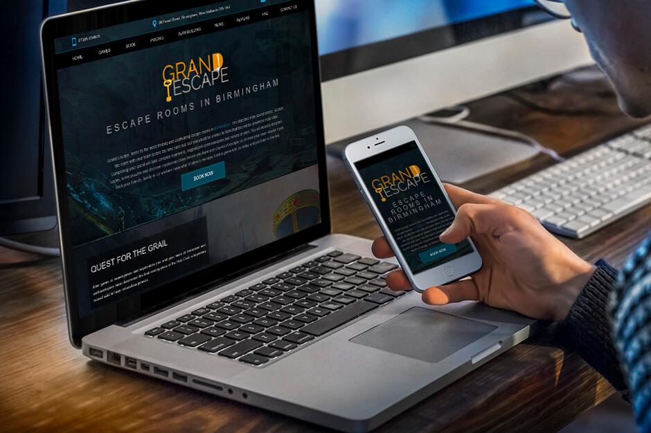 Mājas lapas Grand Escape