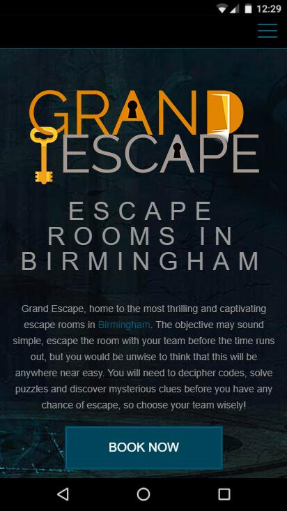 Grand Escape - mobilā versija