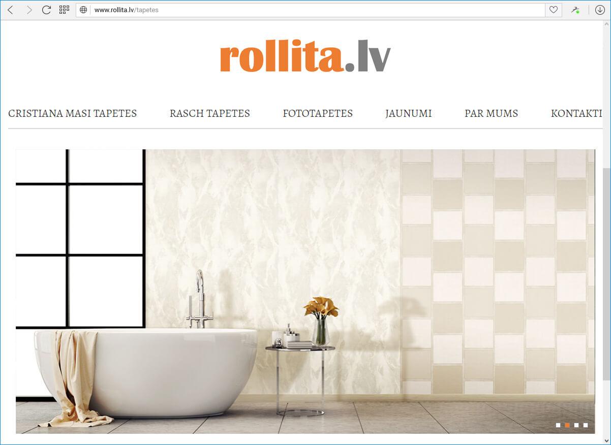 Mājas lapas Rollita