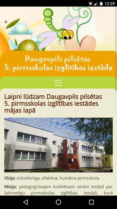 Daugavpils pilsētas 5. pirmsskolas izglītības iestāde