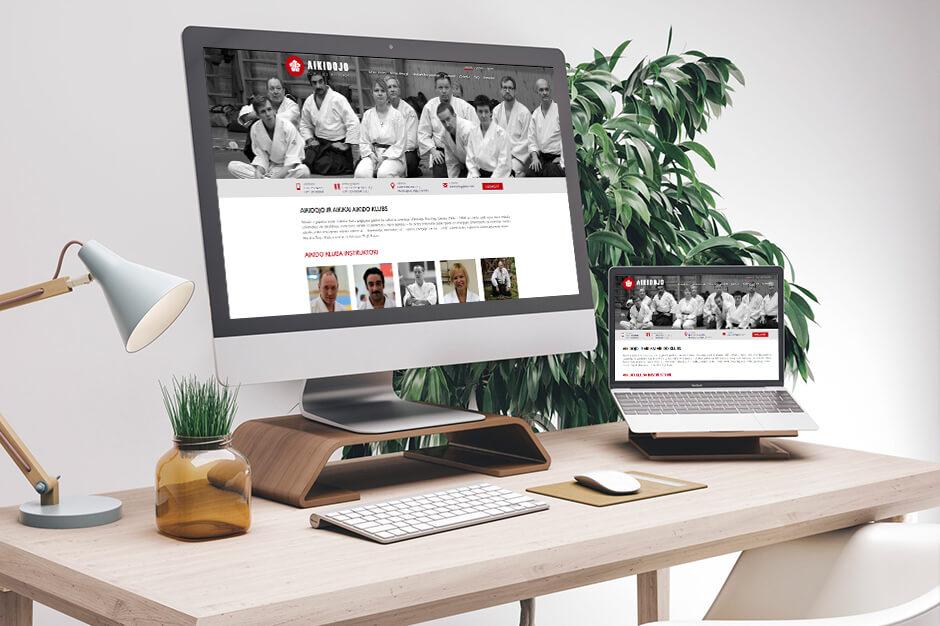 Kluba Aikidojo mājas lapas izstrāde