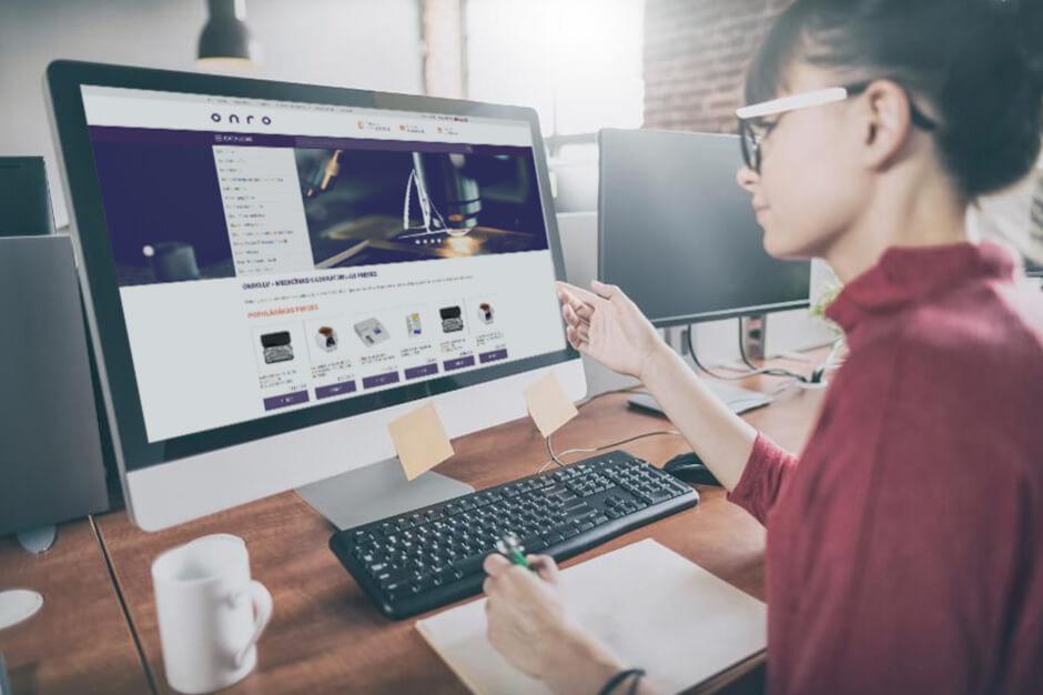 Interneta veikala ONRO izstrādes pabeigšana