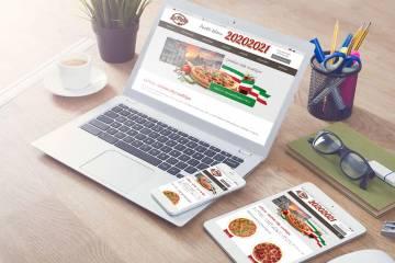 Завершение разработки сайта пиццерии LaPizza