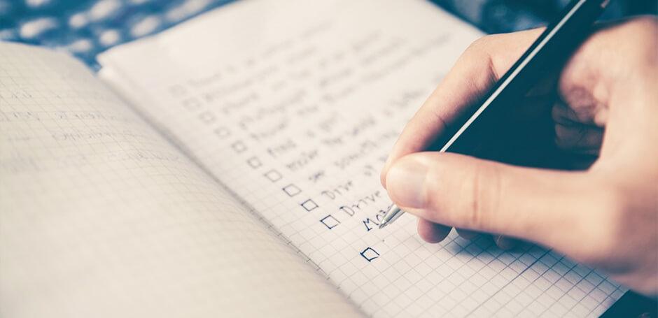 Как правильно составить список дел?